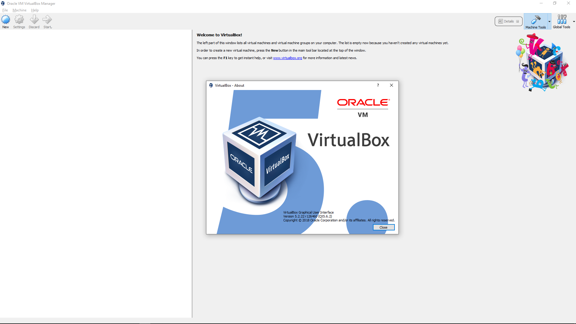 VirtualBox 5 2 22 126460 license key